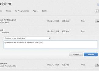 Reportando un problema sobre la descarga de una App