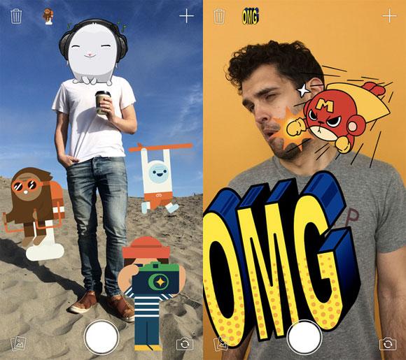 Stickers de Facebook