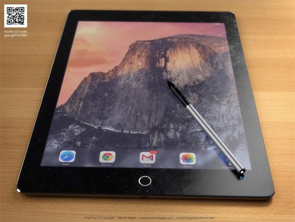 Concepto de diseño del iPad Pro