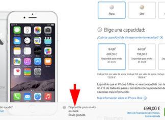 iPhone 6 disponible sin esperas