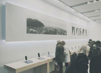 Galerías de arte en la Apple Store