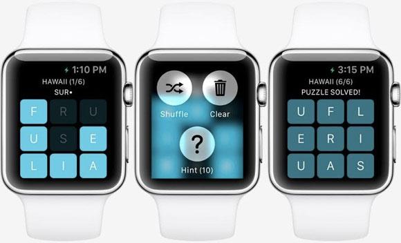 Juego de Nimblebits para Apple Watch
