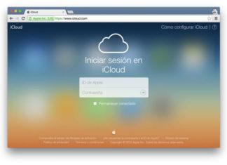 Web de iCloud