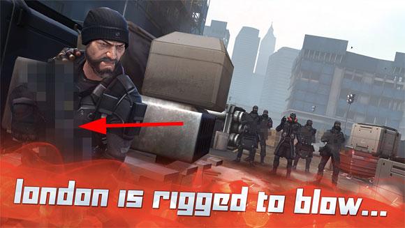 Arma censurada en Tempo