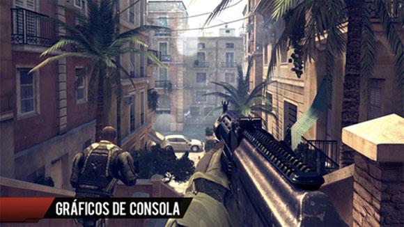 Armas en Modern Combat 4