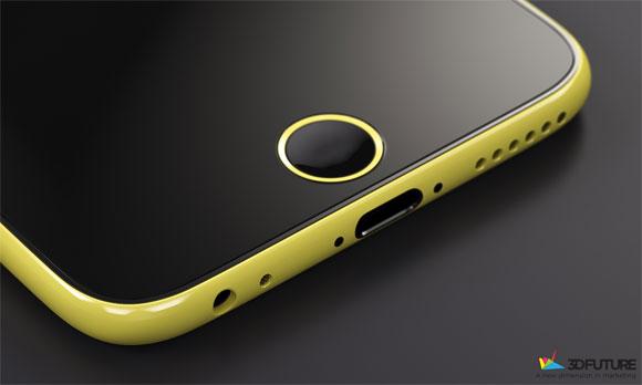 Concepto de diseño de iPhone 6C