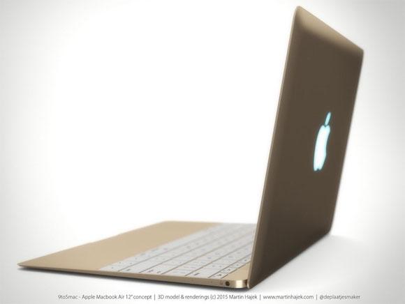 Concepto de diseño de MacBook Air de Martin Hajek