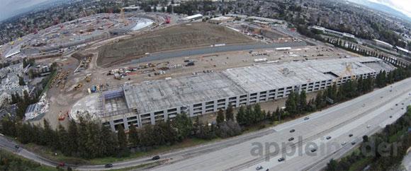 Obras del Campus 2 de Apple