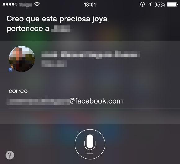 Preciosa joya de Siri