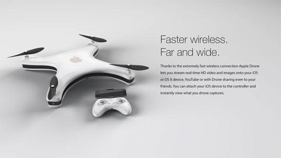 Concepto de diseño de Drone de Apple