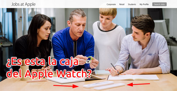 Caja del Apple Watch