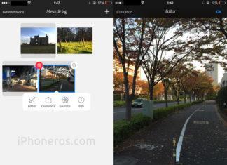 Camera+ a la resolución nativa del iPhone 6