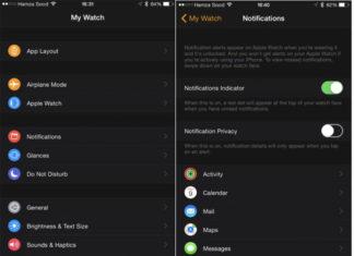 App del Apple Watch