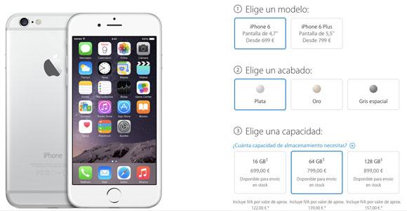 Precio del iPhone 6 libre de fábrica