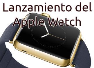Lanzamiento del Apple Watch