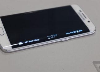 Pantalla curvada del Samsung S6 Edge