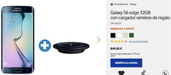 Precio Samsung Galaxy S6 edge en España