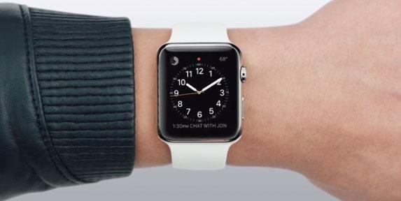 Apple Watch en la muñeca