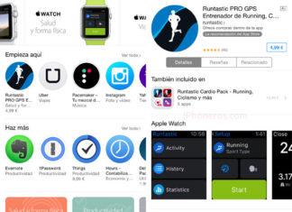 App Store del Apple Watch