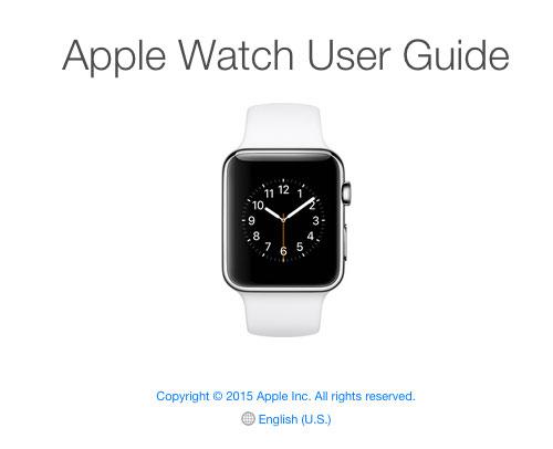 Guía del usuario del Apple Watch