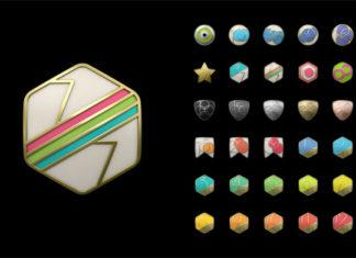 Logos de logros del Apple Watch