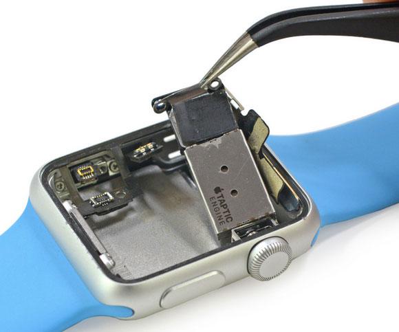 Motor haptico del Apple Watch