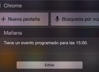 Widget de Chrome
