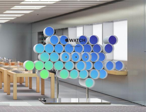 Render de la decoración del Apple Watch