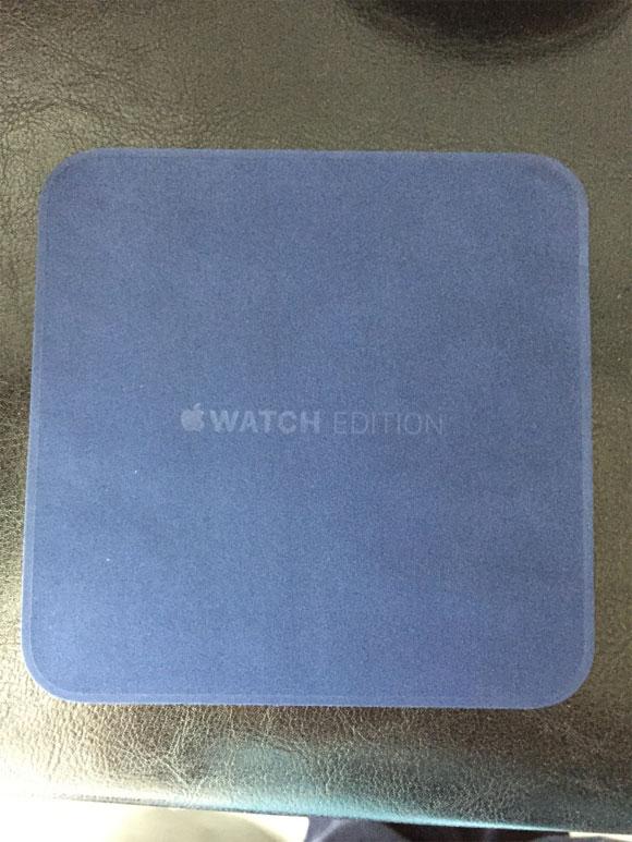 Caja cargadora del Apple Watch Edition