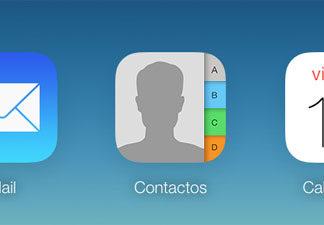 Contactos en iCloud