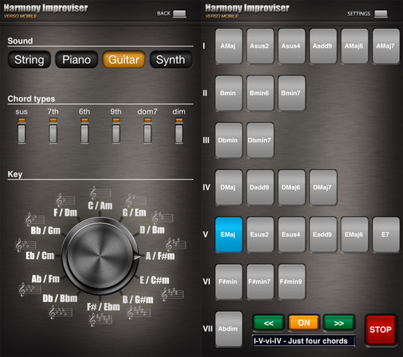 Harmony Improviser PRO