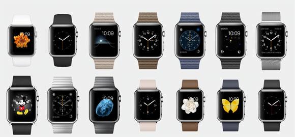 Faces del Apple Watch