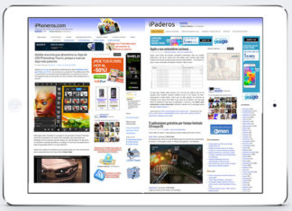 iPad a pantalla partida con iPhoneros e iPaderos