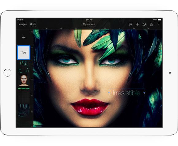 Pixelmator en el iPad