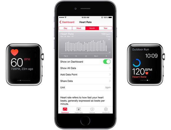 Pulso del Apple Watch