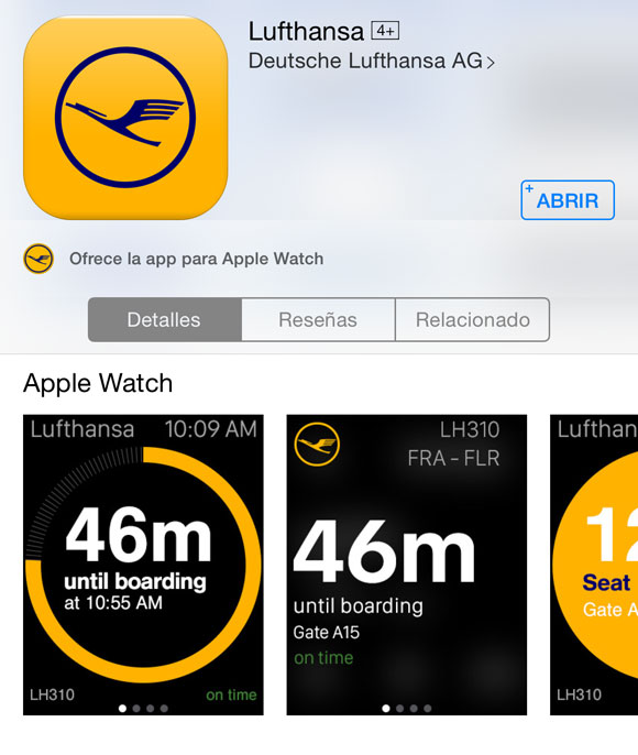 App de Lufthansa