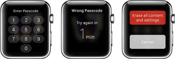 El Apple Watch no tiene bloqueo de iCloud