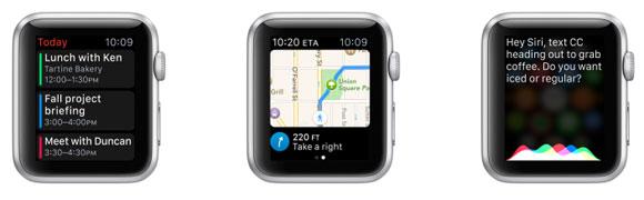 Siri en el Apple Watch