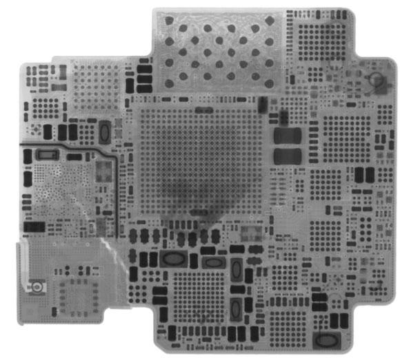Apple Watch visto con rayos X