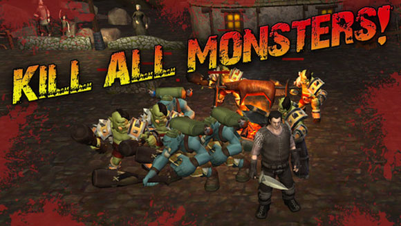 Angry Warrior: Eternity Slasher 3D Fantasy Battle With Orcs