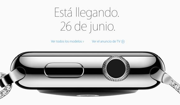El Apple Watch está llegando