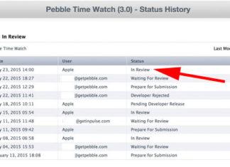 Pebble Time esperando review