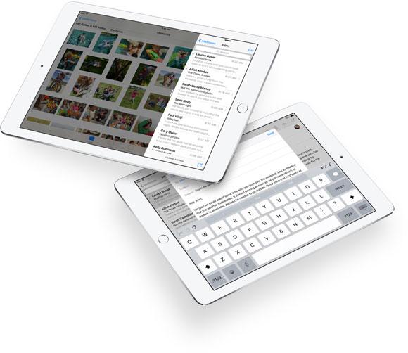 Pantalla partida en el iPad