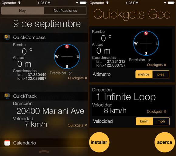 Quickgets Geo