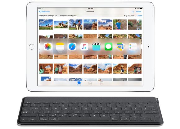 Teclado conectado al iPad