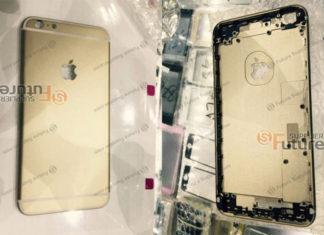 Supuesta carcasa del iPhone 6S Plus