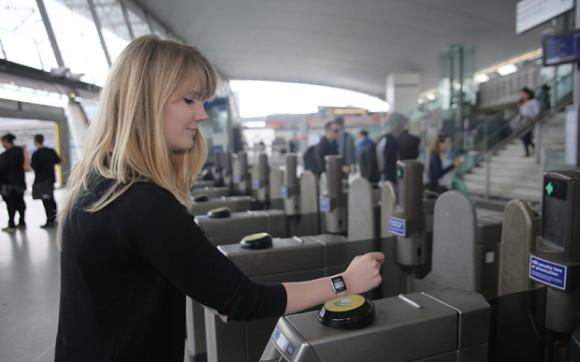 Pagando en el Metro con el Apple Watch