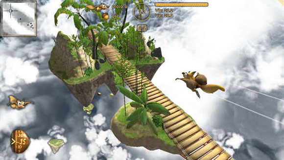Crazy Flying Squirrel