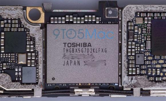 Chip Toshiba de memoria Flash