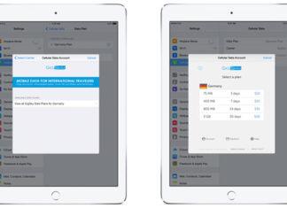 iPads con la tarjeta SIM de Apple